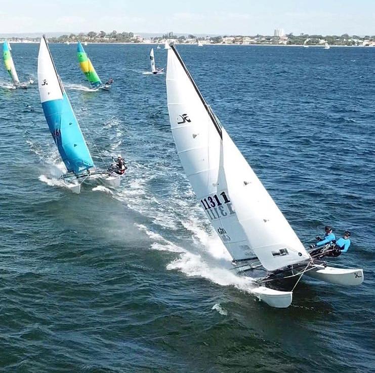 Hobie 16 racing Perth Western Australia