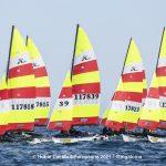 Hobie Multieuropeans Hobie 16 Gold Fleet Day 1. 145